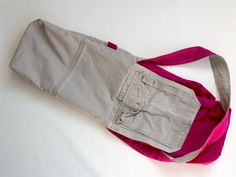 Recycle Cargo Pants to a Messenger Bag | BluDor Magazine