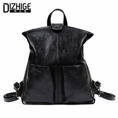 92decf97061c Fasion women backpack 2016 Pu leather High Quality Backpacks For Teenage  Girls Famous Brands Mochilas Feminina