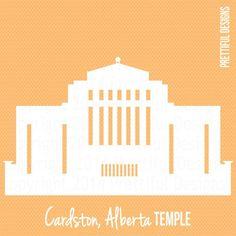 cardston temple silhouette - Google Search Temple, Cricut Cuttlebug, Lds Mormon, Art Series, Activity Days, String Art, Clip Art, Silhouette, Activities