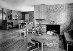 330. Louis Kahn /// Jesse and Ruth Oser House /// Elkins Park, Philadelphia, USA /// 1940 OfHouses presents 'The Grandfathers of Modern Architecture and their First Houses'. (Photo: © Samuel Gottscho...