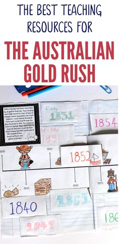 These Australian Gold Rush teaching resources are so much fun! Your Year 5 HASS students will love learning about this exciting and wild time in Australia's history. With fun and interactive activities your students will be able to develop a genuine under Time In Australia, Interactive Activities, Class Activities, Research Skills, Curriculum Planning, Inspired Learning, Primary Teaching, Comprehension Activities, Australian Curriculum