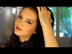 Tutoriel maquillage automne -smokey eyes bordeaux / Fall makeup look  www.youtube.com/beyourselfbyalex