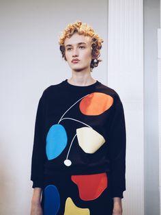 Peter jensen Aw16 inspired by Peggy Guggenheim