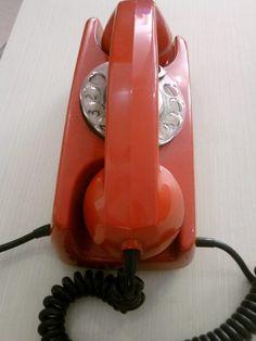 Telefone Gte - Vermelho - Funcionando.