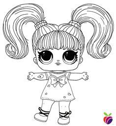 LOL surprise Hairgoals series coloring page - Sk8er Grrrl ...