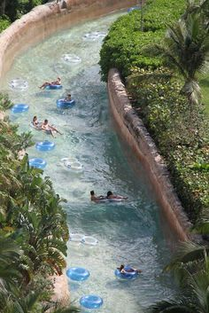 Lazy river... The best!