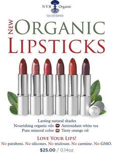 Organic makeup... yes.. NYR has it.. if you are organic and concerned about what is in your makeup... take a look... https://us.nyrorganic.com/shop/sabrinas