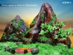 The Dino Park Dessert Table by PoojasDesignerCakes
