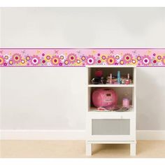 butterfly garden wall border decal - fun4walls