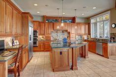 Nice custom kitchen