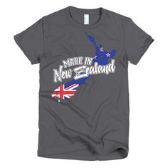 Made In New Zealand Womens T-Shirt