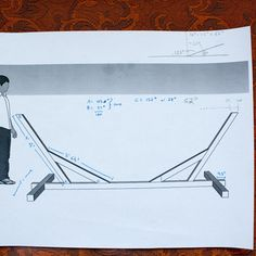 Directions from Instructables...how to make a hammock stand