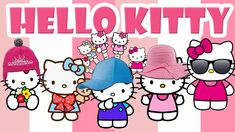 Finger Family Hello Kitty | Baby Rhymes for Children | Hello Kitty Song
