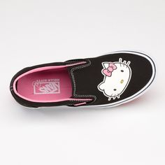 Classic Vans slip-ons with Hello Kitty.  What's not to love?