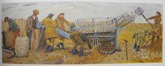 Evelyn Dunbar - Potato Sorting, Berwick