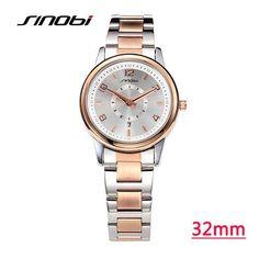 176f6f2204ee7 SINOBI Watches Women Brand Luxury Quartz Watch Women Fashion Relojes Mujer  Ladies Wrist Watches Business Relogio