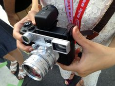 Wacky Ricoh GXR with Leica 50mm DR Summicron lens
