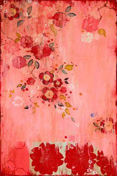 "Kathe Fraga painting ""Kaleena"" www.kathefraga.com"