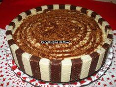 Receita Torta Gelada de Bis