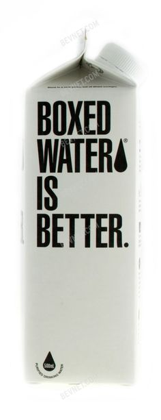 boxed water - Google Search