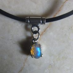 Opal Drop Pendant. Welo Opal. Sterling Silver by KJOFineArt, $39.95