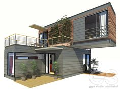 Container House - pixels Who Else Wants Simple Step-By-Step Plans To Design And Build A Container Home From Scratch? Who Else Wants Simple Step-By-Step Plans To Design And Build A Container Home From Scratch? Building A Container Home, Storage Container Homes, Container Buildings, Container Architecture, Container House Plans, Container Design, Architecture Design, Sustainable Architecture, Container Van