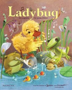 Ladybug Magazine for Kids March 2016 digital magazine - Read the digital edition by Magzter on your iPad, iPhone, Android, Tablet Devices, Windows 8, PC, Mac and the Web.