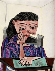Girl Reading by Pablo Picasso