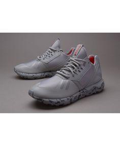 hot sales 544f2 e4e85 Adidas Originals Tubular Runner Solid Grey Lush Red Shoes