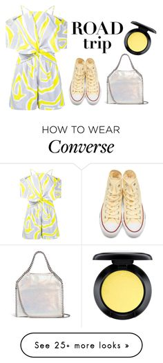 """""""Untitled #53"""" by dontdanceex on Polyvore featuring Emilio Pucci, Converse, MAC Cosmetics and STELLA McCARTNEY"""