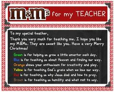Are you looking for a Christian m teacher poem for your Christmas gift idea? Download a free copy. Ms Teacher, Teacher Poems, Sunday School Teacher, Teacher Appreciation Week, School Days, School Stuff, Teacher Tips, Teacher Stuff, Christmas Poems