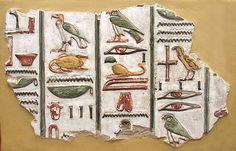 Hieroglyphs from the tomb of Seti I - Antiguo Egipto - Wikipedia, la enciclopedia libre
