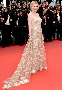 KIRSTEN DUNST // The famous French film festival never lacks for fabulous fashion