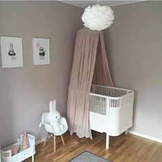What a pretty little girl's room! Vita Eos light shade available at www.istome.co.uk Playroom Organization, Playroom Decor, Diy Bedroom Decor, Baby Bedroom, Girls Bedroom, Childrens Room Decor, Girl Decor, Little Girl Rooms, Baby Cribs