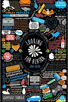Looking for Alaska by John Green. My top favorite John Green book ever! Just reading it makes me think of what Great Perhaps might be out there for me. John Green Quotes, John Green Books, John Green Libros, Looking For Alaska Quotes, Jhon Green, An Abundance Of Katherines, Good Books, My Books, Alaska Young