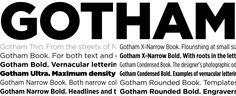 Know your type: Gotham