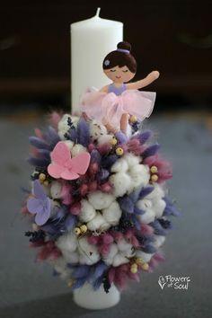 Flowers of Soul Felt Flowers, Paper Flowers, Charts For Kids, Palm Sunday, Baptism Gifts, Candels, Flower Arrangements, Diy And Crafts, Bouquet