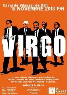VIRGO EN CONCERT TEATRE DEL CASAL Dissabte 16 novembre a les 19:00
