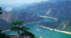 Lago Chungjuho, Corea del Sur.