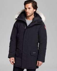 Canada Goose chateau parka online 2016 - CANADA GOOSE Charcoal grey Down & Fur langford parka on shopstyle ...