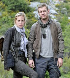 Pictured: (l-r) Piper Perabo as Annie Walker, Nic Bishop as Ryan McQuaid.