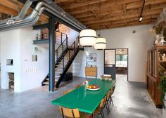 Sophisticated Loft Living in Refurbished Barn Home - http://freshome.com/barn-home-conversion/