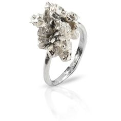 NIZA HUANG UNDER EARTH Irregular silver ring and other apparel, accessories and trends. Browse and shop 2 related looks.