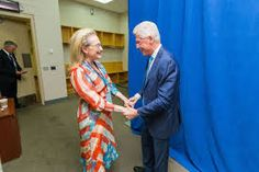 Bill Clinton is married to Hillary Clinton, who served as United States Secretary of State from 2009 to who was a Senator from New York from 2001 to and who was the Democratic nominee for President of the United States in