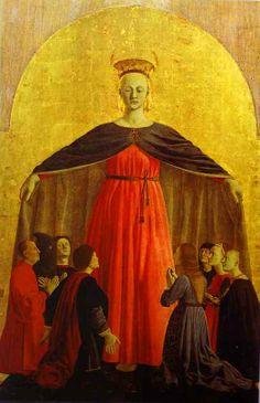 59a. Madonna Miłosierdzia, Piero della Francesca