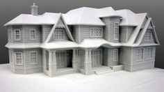 Kevin Zarabi submitted 2D CAD and LGM took the files through the 3D transformation, added the material textures and 3D Printed the model for their Design Review. #3d Print http://www.lgm3d.com/portfolio#!project=6-aspen-gate-plandome-manor