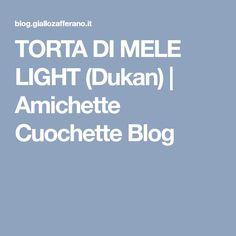 TORTA DI MELE LIGHT (Dukan) | Amichette Cuochette Blog