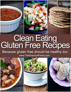 Because gluten free recipes should be healthy too.