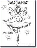 Prima Princessa coloring pages, games, etc. Ballet Themed.