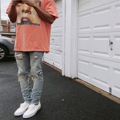** Streetwear daily - - - Click this picture to check out our clothing label ** Urban Apparel, Urban Outfits, Casual Outfits, Men Casual, Summer Outfits Men, Casual Jeans, Style Streetwear, Streetwear Fashion, Skate Logo